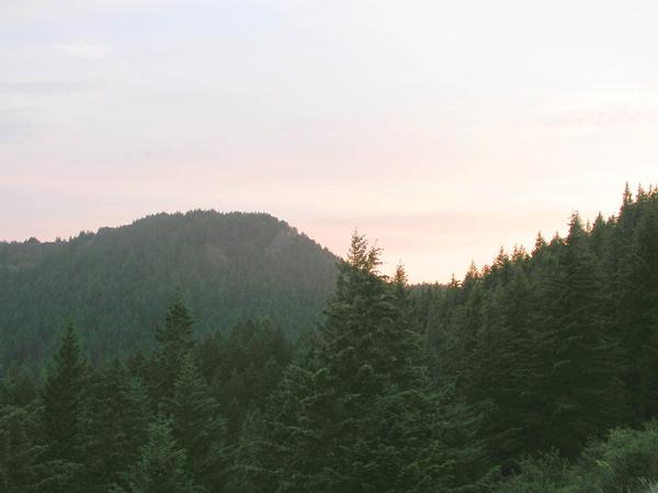 Mount June Sunset (photo by Chandra LeGue)