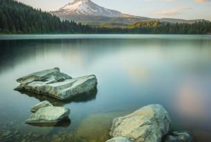 Trillium Lake by Joe Keller
